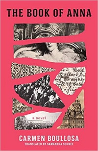 Book of Anna Carmen Boullosa cover